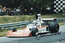 "Former Formula One F1 & Le Man Driver Jochen Mass Hand Sigend Photo 12x8"" L"
