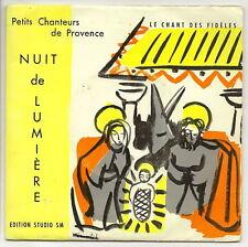 PETITS CHANTEURS DE PROVENCE Vinyle 45T NUIT DE LUMIERE