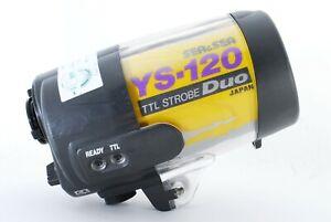 [Excellent++] Sea & Sea YS-120 TTL Strobe Underwater Flash from Japan #796272