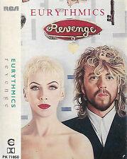 Eurythmics Revenge CASSETTE ALBUM RCA PK 71050 Italy Electronic Pop Synth-pop