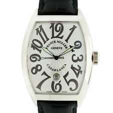 New FRANCK MULLER CASABLANCA  8880 B C DT White Dial Black Numbers Wrist Watch