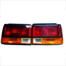 Toyota Corolla Ae80 Ee80 Ee82 Sedan 84 85 86 87 88 Pair Rear Tail Lamp Light L+R
