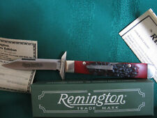 """REMINGTON 2007 """"THE RENEGADE"""" BULLET KNIFE - MINT IN BOX"""