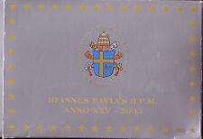Vatikan KMS 2003 polierte Platte original