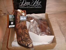 DAN POST HIDDEN  WOMENS BOOTS  CAMO LEATHER  9.0US  NIB