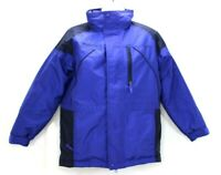 Columbia Youth Down Filled Ski Snow Jacket Coat Size Medium 10-12 Blue