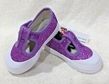 Vans Toddler Girl's Leena Purple Glitter Skate Shoes - Size 6/7/8/10 NWB