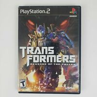 Transformers: Revenge of the Fallen PS2 (Sony Playstation 2) Good - Fast Ship
