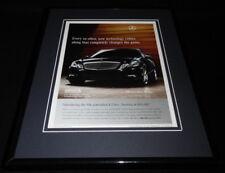 2009 Mercedes Benz E Class Framed 11x14 ORIGINAL Advertisement