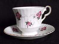 Vintage HAMMERSLEY SPODE Bone China PRINCESS HOUSE Set Footed Cup & Saucer