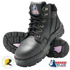 Steel Blue Parkes Zip Ladies Work Boots Safety Toe 512758