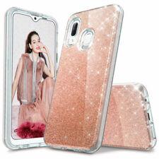 Samsung Galaxy A10e A20 A20s A50 A51 A70 A21 Shockproof Bling Phone Case Cover