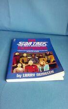 The Star Trek The Next Generation Companion By Larry Nemecek 1992 Softcover