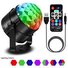 LED Disco DJ KTV Stage Lighting RGB DMX512 Magic Ball Effect Party Strobe Light