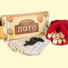 Russisches Lotto Brettspiel Gesellschaftsspiel Русское Лото Настольные игры Игра