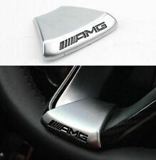 Steering Wheel Emblem Decal Sticker Badge Trim Fit For Benz AMG C / E / GLC Logo
