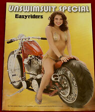 Unswimsuit Easyriders Magazine Supplement Near Mint Condition  25 pages