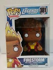 Funko POP! DC Heroes FIRESTORM Box #381 VINYL FIGURE Legends of Tomorrow Vaulted