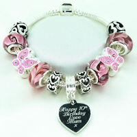 Personalised Jewellery For Girls Pink Bracelet ENGRAVED Birthday Easter Gifts