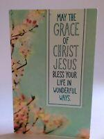 Vtg American Greetings Christian Grace, Jesus Christ, Birthday Greeting Card