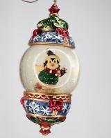 "Kirkland Signature Christmas Tree Snow Globe Ornament 5"" / 13 cm, Penguin, Kids"