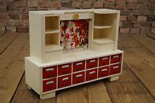 vintage Kinderspielzeug Puppenstube Anrichte 50er Puppenhaus Holz Verkausladen