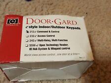 Door-Gard 212E Keypad for Electric Lock  NEW