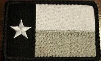 TEXAS State Flag Patch W/ VELCRO® Brand Fastener Tactical USA Morale Emblem #22