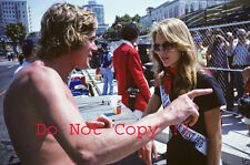 James Hunt McLaren F1 Portrait USA West Grand Prix Long Beach 1976 Photograph