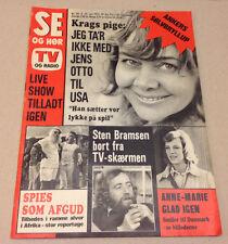 QUEEN ANNE-MARIE KING CONSTANTINE II OF GREECE HUNT DENMARK Danish Magazine 1973
