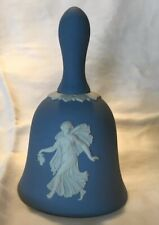 Wedgwood Dancing Hour Blue And White Bell - England Stamp -Euc - Free Shipping!