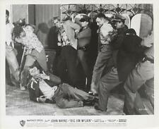 """BIG JIM MCLAIN""-ORIGINAL PHOTO-JOHN WAYNE-FIGHT SCENE"