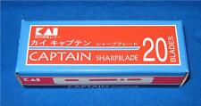 KAI CAPTAIN SHARP BLADE 20 blades B-CAPS20