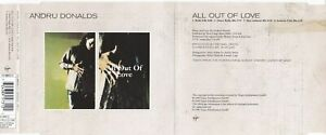 Andru Donalds - All Out Of Love (4 Track Maxi CD)