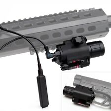 Tactical Red Laser Sight 300 lumen LED Flashlight Combo For 20mm Weaver Rail