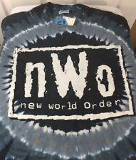 Nwo Original Wcw 1998 Tye Dye Xl T Shirt New With Tags Wwf Wwe Wcw Aew Authentic