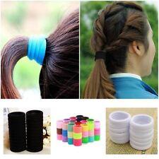 Unbranded Elastic Hair Ponytail Holders for Women