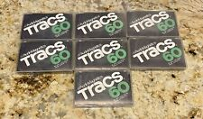 Lot of 7 Vintage AUDIO MAGNETICS TRACS C-60 BLANK CASSETTE TAPES New