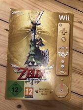 Nintendo Wii The Legend Of Zelda Skyward Sword Collectors Edition New Sealed