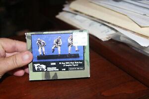 Verlinden 1/48 US Navy Pilots Running WWII (Multi Pose) (3 Figures) Resin 1298