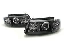 97-01 VW PASSAT B5 EURO BLACK PROJECTOR HEADLIGHTS W/ CORNER LIGHTS