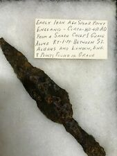 Ancient Anglo-Saxon Iron Spear Point Circa 6th-7th Cent Ad, Ex-Gilham Collection