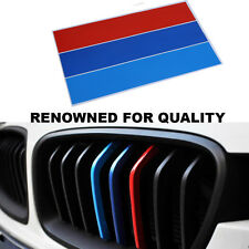 GRILLE KIDNEY M SPORT STRIPE 3 COLOR DECAL VINYL STICKER FOR BMW 13 5 6 series