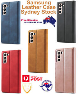 SAMSUNG NOTE GALAXY Strong Magnetism Ultra-thin Leather Genuine Cases Quality