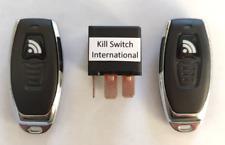 Automotive Remote Control Anti-Theft Kill Switch, Plug & Play, no Wiring Needed