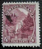 Newfoundland:1923 Local Motives 4C Rare & Collectible Stamp.