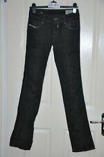 "DIESEL 'ROKKET' black stretch bootcut jeans, waist 26"" leg 34"" In good condition"