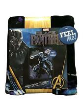 MARVEL BLACK PANTHER SILKY SOFT THROW BLANKET