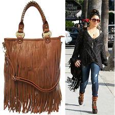 Ladies Official LYDC Tassel Shoulder Bag Fringe Handbag Messenger Bag GL1210