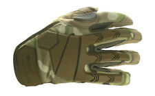 Alpha Tactical BTP Camo Army Gloves knuckle protection Micro Fibre Palm Shooting